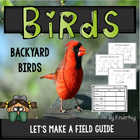 Backyard Birds Lets Make a Book Emergent Reader