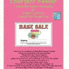Bake Sale Emergent Reader