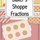 Baker's Shoppe Fractions for Third grade Common Core
