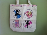 Ballet Custom Tote Bag