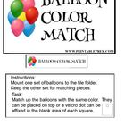 Balloon Color Match