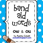 Band Aid Words Sorting Station