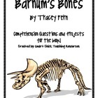 Barnum's Bones, by T. Fern, Comp. Questions and Project Sheets