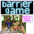 Barrier Games for Speech Therapy; Set 2