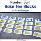 Base Ten Number Sort