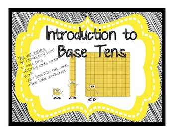Base Tens-Introduction Booklet