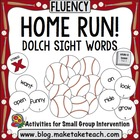 Baseball Sight Word Game- Dolch 220 Sight Words