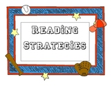 Baseball Themed Reading Comprehension Stategies Posters