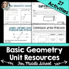 Basic Geometry Unit Resources