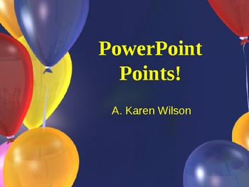 Basic Intro to PowerPoint