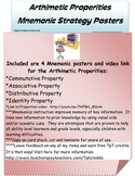 Basic Number Properties: Mnemonic Strategy Posters