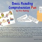 Basic Reading Comprehension Fun