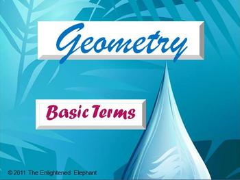 Basic Terms of Geometry PowerPoint