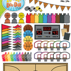 Basketball Madness Clip Art — Includes 95 Graphics!