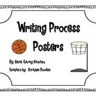 Basketball Writing Process Posters