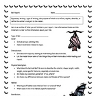Bat Informational Report Writing Sheets, 12 Total Pages!!