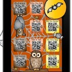 Bat, Owl & Spider Stories iPad using QR Codes~Scan fun twi