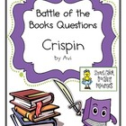 "Battle of the Books Questions:  ""Crispin: The Cross of Lea"