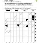 Battleships junior puzzle - 50 worksheets - Pack 1
