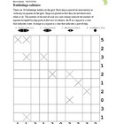 Battleships puzzle - 50 worksheets - Pack 1