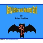 Batty Letter and Number Sort