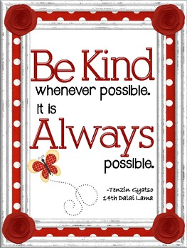 Be Kind Signs