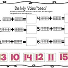 "Be My Valen""teen"" Valentine Ten Frame activity"