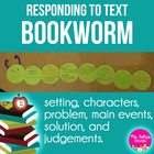 Be a Bookworm... Read! Craftivity