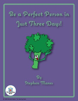 Be a Perfect Person in Just 3 Days Novel Unit CD ~ Common Core