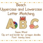 Beach Alphabet Matching