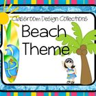 Beach & Ocean Classroom Decorations: Classroom Design Collections