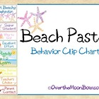 Beach Pastel Behavior Clip Chart