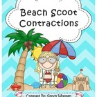 Contractions Beach Scoot Game (Set 2) L.2.2