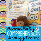 Beanie Baby Comprehension Posters