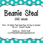 Beanie Steal - CVC words