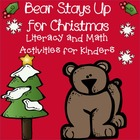 Bear Stays Up for Christmas - Literacy and Math Activities