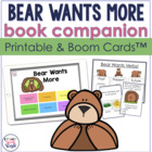 Bear Wants More:  Speech & Language Activities