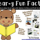 Bear-y Common Core {An ELA and Math Unit About Bears}