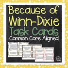 Because of Winn-Dixie Comprehension and Analysis Task Card