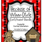 Because of Winn-Dixie Activities: Response Journal, Projec