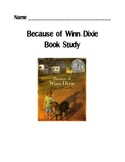 Because of Winn-Dixie Novel Study