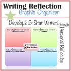Writing Reflection Graphic Organizer (Elementary)