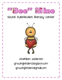 """Bee Mine"" {Phoneme Substitution Literacy Center}"