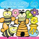 Bee Scrappy - Clipart Graphics From the Pond