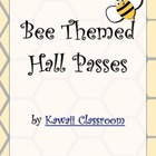 Bee Theme Hall Passes