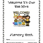 Bee Themed Memory Book