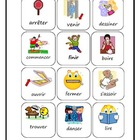 Beginner French Verbs-Activities and Bingo