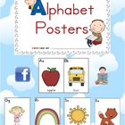Beginning-Initial Sounds Alphabet Posters - 15 pages