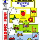 Beginning Letter Flip Books