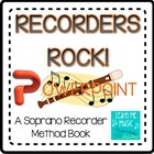 "Beginning Recorder Method Book Coordinating PPT - ""Recorde"